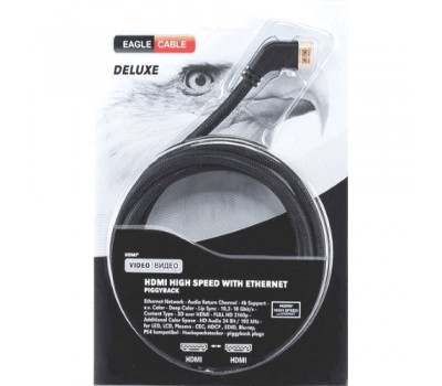Видео кабель Deluxe II HDMI 2.0 Angled 3,2 м