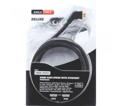 Видео кабель Deluxe II HDMI 2.0 Angled 0,8 м