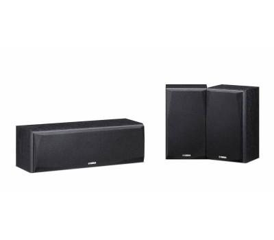 Центральная и тыловые колонки Yamaha NS-P51 3.0 480Вт черный купить недорого с доставкой
