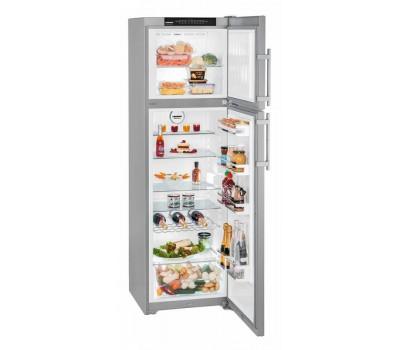 Холодильник Liebherr CTNesf 3663 серебристый (двухкамерный)