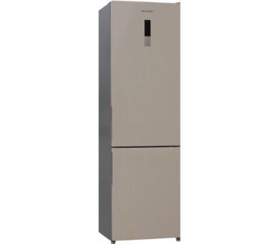 Холодильник Shivaki BMR-2019DNFBE бежевый (двухкамерный)