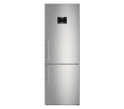 Холодильник Liebherr CBNPes 5758 нержавеющая сталь (двухкамерный)