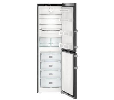 Холодильник Liebherr CNbs 3915 черный (двухкамерный)