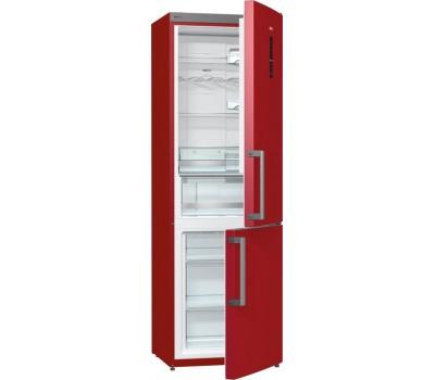 Холодильник Gorenje NRK6192MR бордовый (двухкамерный)