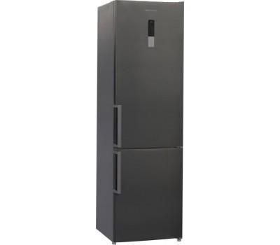Холодильник Shivaki BMR-2018DNFX нержавеющая сталь (двухкамерный)