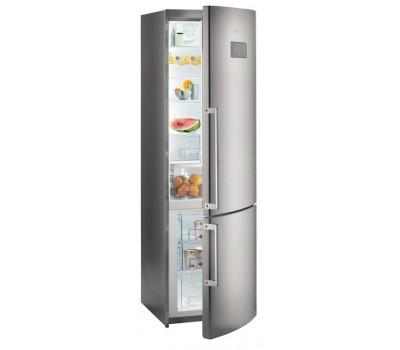 Холодильник Gorenje NRK6201MX серебристый (двухкамерный)
