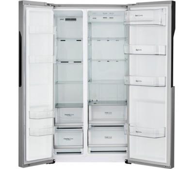 Холодильник LG GC-B247JMUV серебристый купить недорого с доставкой