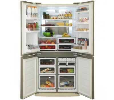 Холодильник Sharp SJ-EX98FBE бежевый (трехкамерный)