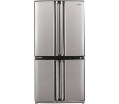 Холодильник SHARP SJF95STSL серебристый