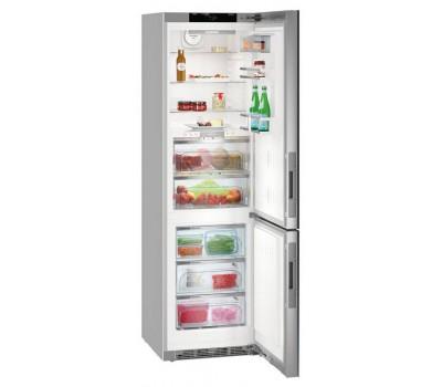 Холодильник Liebherr CBNPgb 4855 серебристый (двухкамерный)