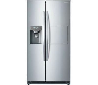 Холодильник Daewoo FRN-X22F5CS серебристый (двухкамерный)