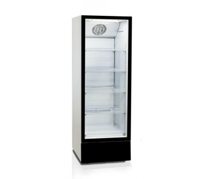 Холодильная витрина Бирюса B460N черный фронт