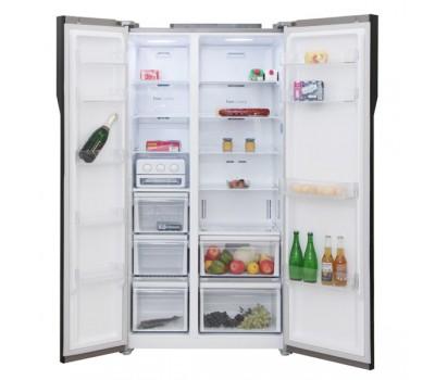 Холодильник Samsung RS552NRUA9M винное стекло (двухкамерный)
