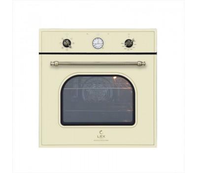 Духовой шкаф Электрический Lex Classico EDM 073C IV слоновая кость
