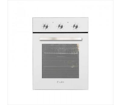 Духовой шкаф Электрический Lex EDM 4570 WH стекло белое/нержавеющая сталь