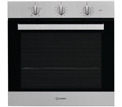 Духовой шкаф Электрический Indesit IFW 6230 IX серебристый/черный