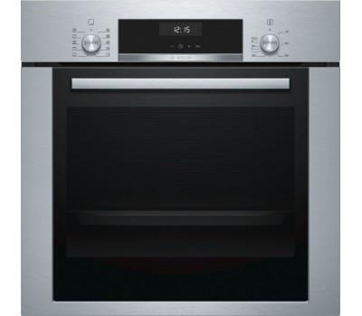 Духовой шкаф Электрический Bosch HBJ354AS0Q нержавеющая сталь/черный