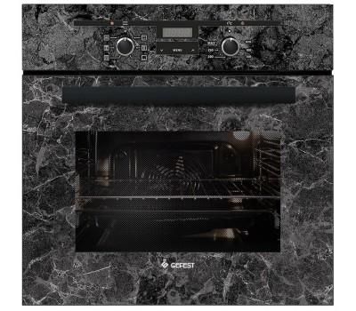 Духовой шкаф Электрический Gefest ЭДВ ДА 622-02 К53 серый/рисунок