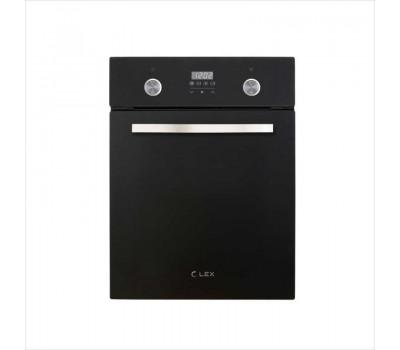 Духовой шкаф Электрический Lex EDP 4590 BL Matt Edition черный матовый