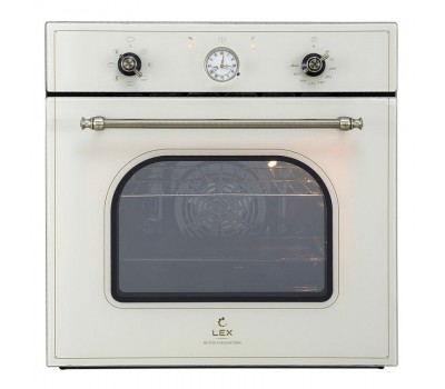 Духовой шкаф Электрический Lex Classico EDM 070C IV стекло слоновая кость