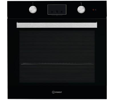Духовой шкаф Электрический Indesit IFW 65Y0 J BL черный