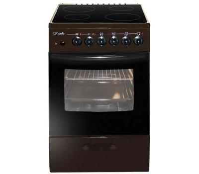 Плита Электрическая Лысьва ЭПС 404 МС коричневый пирокерамика