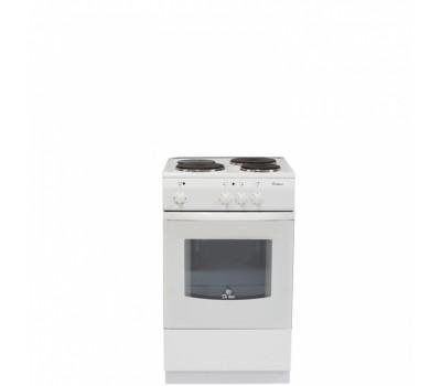 Плита Электрическая De Luxe 5003.17э кр белый