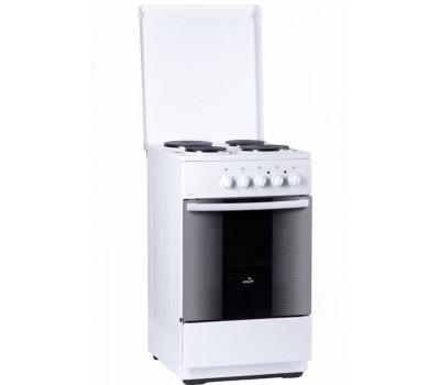 Плита Электрическая Flama FE 1401 W белый эмаль