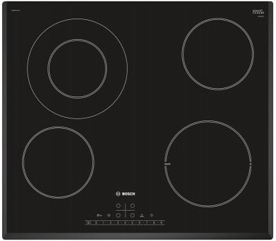 Варочная поверхность электрическая Bosch PKF651FP1E черный