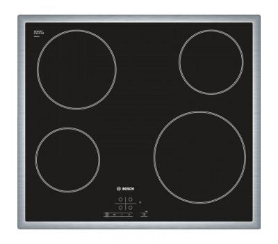 Варочная поверхность электрическая Bosch PKE645B17 черный