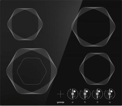 Варочная поверхность электрическая Gorenje EC642INI черный