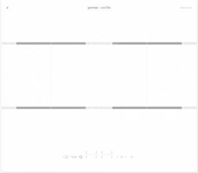 Индукционная варочная поверхность Gorenje IT646ORAW белый