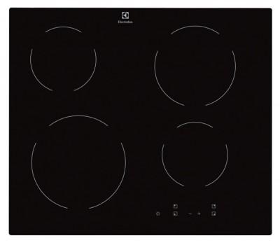 Варочная поверхность электрическая Electrolux EHV 56240AK черный