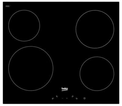 Варочная поверхность электрическая Beko HIC 64401 черный