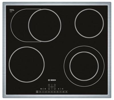 Варочная поверхность электрическая Bosch PKN645F17R черный
