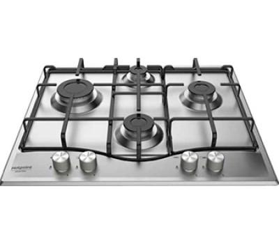Варочная поверхность газовая Hotpoint-Ariston PCN 642 IX/HA RU, нержавеющая сталь, серебро
