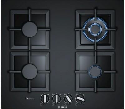 Газовая варочная поверхность Bosch PPH6A6B20R черный
