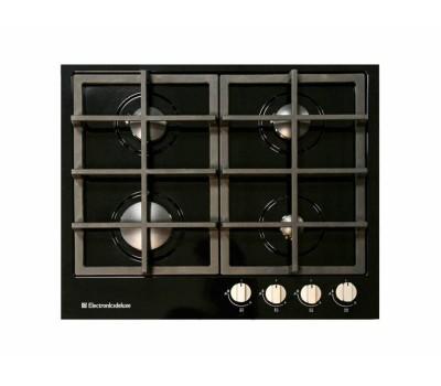 Варочная поверхность газовая Electronicsdeluxe TG4 750231F-040 черный глянец