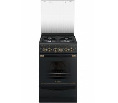 Газовая плита Gefest 5100-02 0183 черный РЕТРО