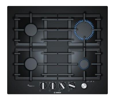 Варочная поверхность газовая Bosch PPP6A6M90R черный
