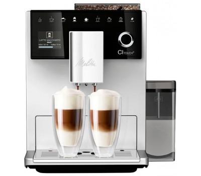 Кофемашина Melitta Caffeo CI Touch 1450Вт серебристый