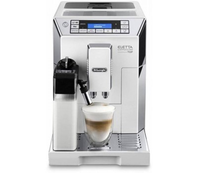Кофемашина Delonghi Dinamica ECAM45.764.W 1450Вт белый