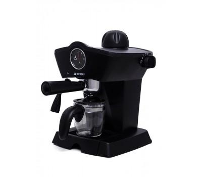 Кофеварка эспрессо Kitfort КТ-706 черный купить недорого с доставкой