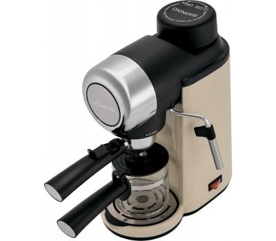 Кофеварка эспрессо Polaris PCM 4005A 800Вт бежевый