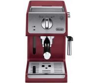 Кофеварка эспрессо Delonghi ECP33.21.R 1100Вт красный