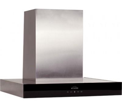 Вытяжка каминная Elikor Агат 90Н-1000-Е4Д нержавеющая сталь/черный, управление: сенсорное (1 мотор)