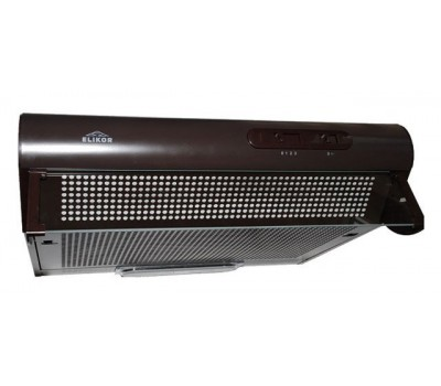 Вытяжка козырьковая Elikor Davoline 60П-290-П3Л коричневый управление: ползунковое (1 мотор)