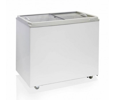 Морозильный ларь Бирюса Б-260VZ белый 135Вт