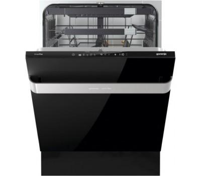Посудомоечная машина встраиваемая Gorenje GV60ORAB полноразмерная, черный