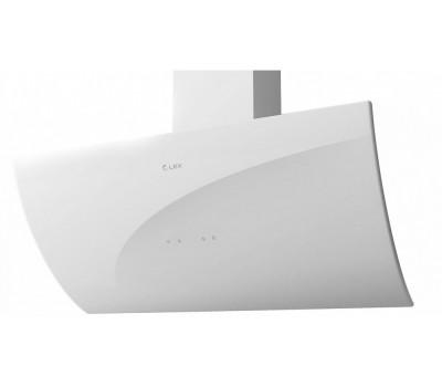 Вытяжка каминная Lex Plaza 900 белый управление: сенсорное (1 мотор)